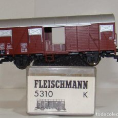 Trenes Escala: FLEISCHMANN VAGON CERRADO EUROP DB REF: 5310 ESCALA H0. Lote 248360960