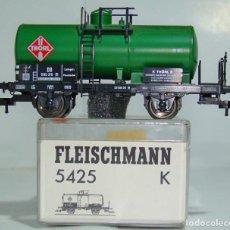 Trenes Escala: FLEISCHMANN VAGON CISTERNA DE LA DB REF: 5425 ESCALA H0. Lote 248361710
