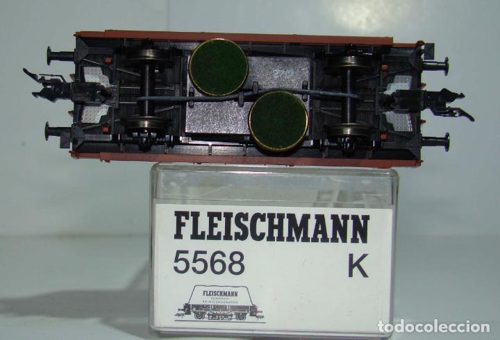 Trenes Escala: FLEISCHMANN VAGON LIMPIA VIAS REF: 5568 ESCALA H0 - Foto 2 - 248477955