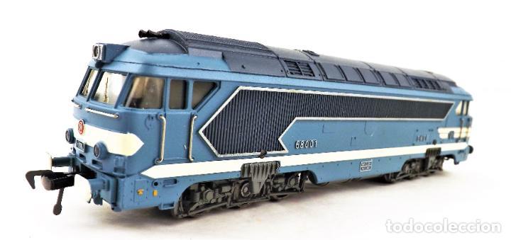 Trenes Escala: Fleischmann 4280 Locomotora Diesel de la SNCF H0 DC Analog - Foto 2 - 250148985