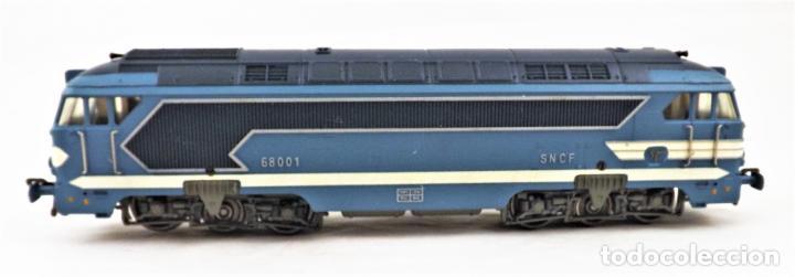 Trenes Escala: Fleischmann 4280 Locomotora Diesel de la SNCF H0 DC Analog - Foto 3 - 250148985