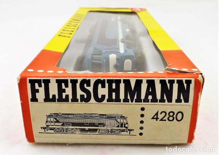 Trenes Escala: Fleischmann 4280 Locomotora Diesel de la SNCF H0 DC Analog - Foto 6 - 250148985