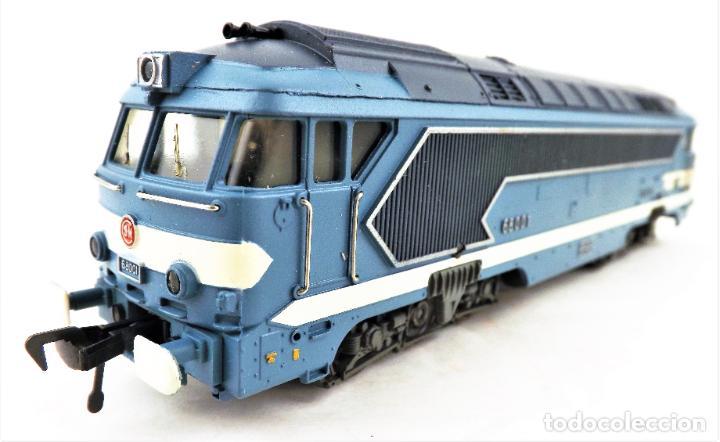 FLEISCHMANN 4280 LOCOMOTORA DIESEL DE LA SNCF H0 DC ANALOG (Juguetes - Trenes Escala H0 - Fleischmann H0)