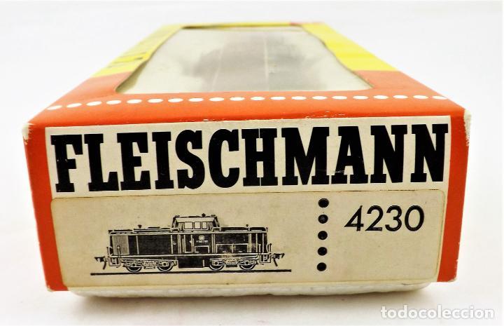 Trenes Escala: Fleischmann 4230 Locomotora Diesel H0 DC Analog - Foto 5 - 250150310
