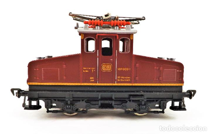 Trenes Escala: Fleischmann 4303 Locomotora Eléctrica de la DB E169 H0 DC Analog - Foto 2 - 250150930