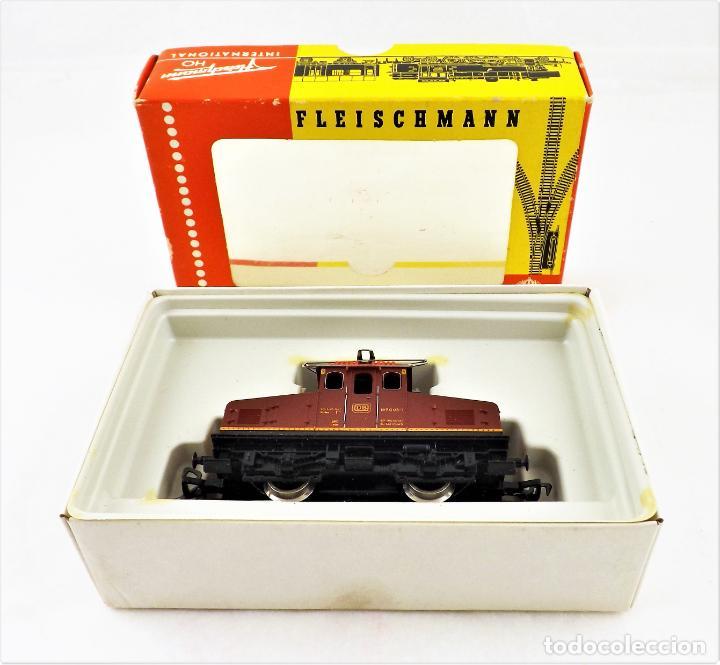 Trenes Escala: Fleischmann 4303 Locomotora Eléctrica de la DB E169 H0 DC Analog - Foto 5 - 250150930