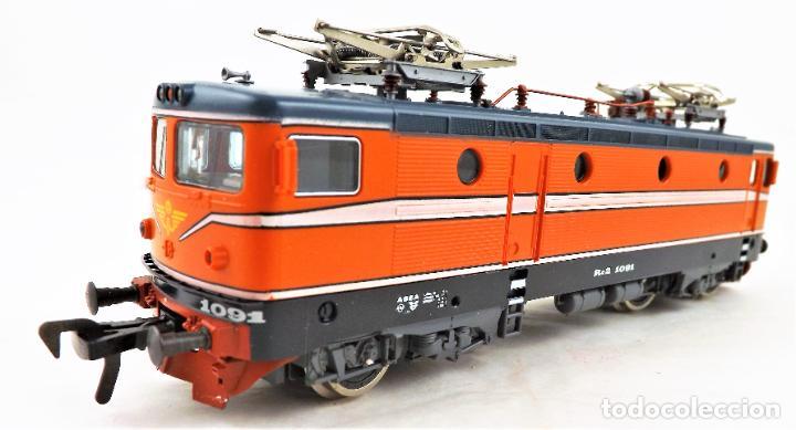 Trenes Escala: Fleischmann 4365 Locomotora Eléctrica Rc2 1091 H0 DC Analog - Foto 2 - 250151260