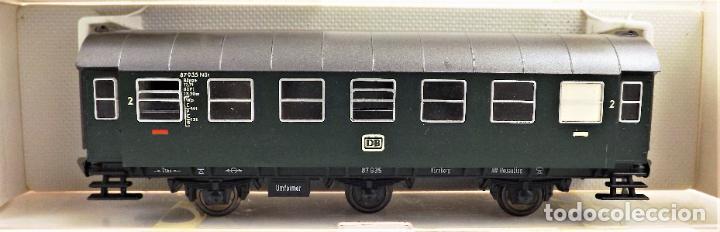 Trenes Escala: Fleischmann 5061+5061+5091 conjunto de tres coches pasajeros - Foto 4 - 253340485