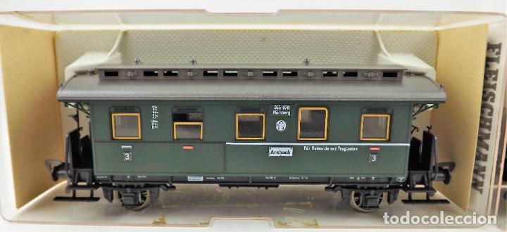 Trenes Escala: Fleischmann 5067+5067 conjunto de dos coches pasajeros - Foto 2 - 253340745