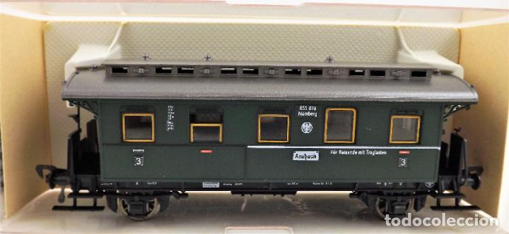 Trenes Escala: Fleischmann 5067+5067 conjunto de dos coches pasajeros - Foto 3 - 253340745