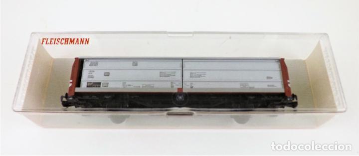 Trenes Escala: Fleischmann 5335 Vagón carga cerrado - Foto 3 - 253341225