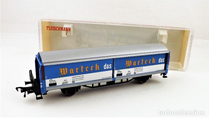 Trenes Escala: Fleischmann 5337 Vagón Cerveza - Foto 3 - 254157695