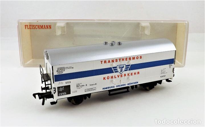 Trenes Escala: Fleischmann 5340 Vagón Frigorífico - Foto 4 - 254158570