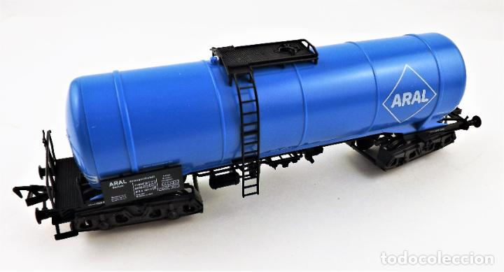 Trenes Escala: Fleischmann 5473 Vagón Cisterna Aral - Foto 2 - 254158995