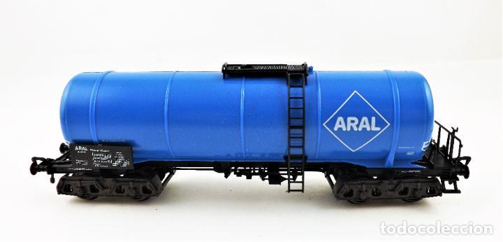 Trenes Escala: Fleischmann 5473 Vagón Cisterna Aral - Foto 3 - 254158995