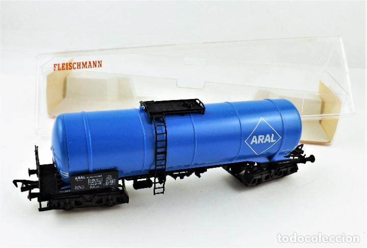 Trenes Escala: Fleischmann 5473 Vagón Cisterna Aral - Foto 4 - 254158995