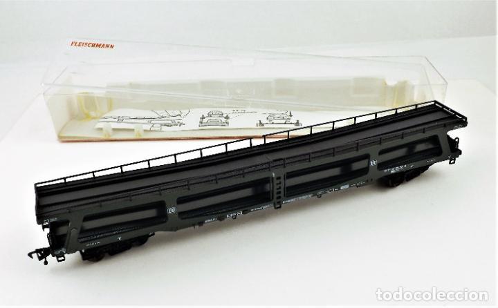 Trenes Escala: Fleischmann 5284 Vagón autoexpreso sin coches - Foto 5 - 254159840