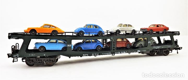 Trenes Escala: Fleischmann 5285 Vagón autoexpreso con 8 coches - Foto 2 - 254168300