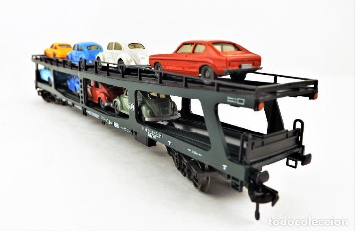 Trenes Escala: Fleischmann 5285 Vagón autoexpreso con 8 coches - Foto 3 - 254168300