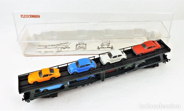 Trenes Escala: Fleischmann 5285 Vagón autoexpreso con 8 coches - Foto 5 - 254168300