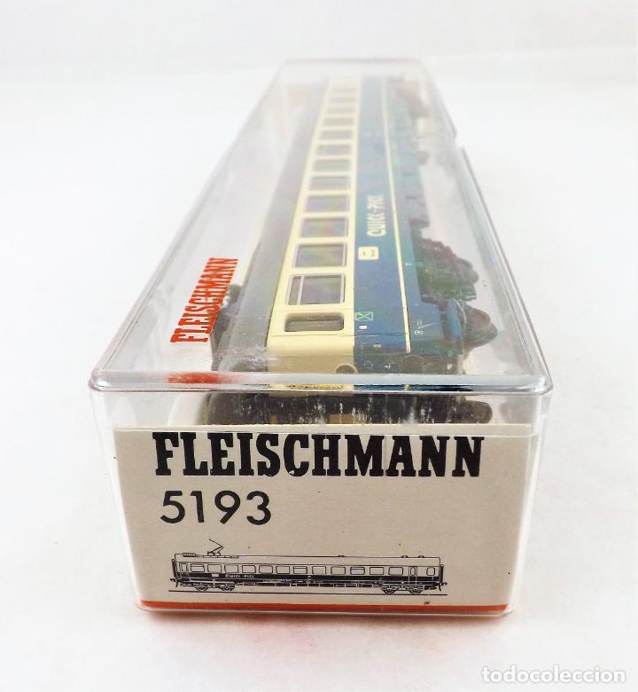 Trenes Escala: Fleischmann H0 5193 Coche pasajeros con pantógrafo de la DB - Foto 4 - 254345540