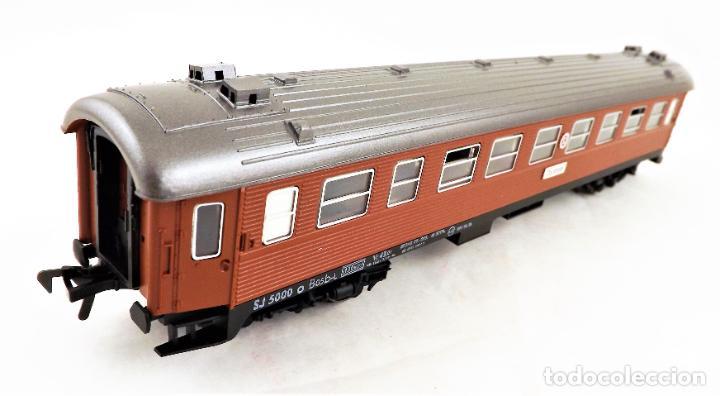 Trenes Escala: Fleischmann H0 5155 Coche pasajeros SJ - Foto 2 - 254411160