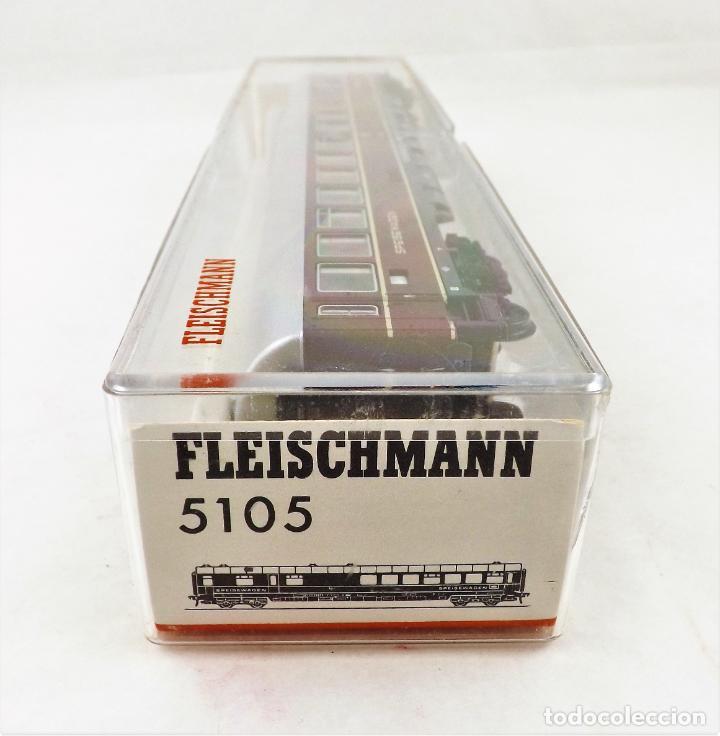 Trenes Escala: Fleischmann H0 5105 Coche Restaurante DB - Foto 4 - 254411560