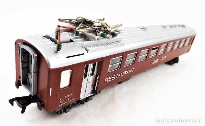 Trenes Escala: Fleischmann H0 5131 Coche Restaurante SBB CFF - Foto 2 - 254412080