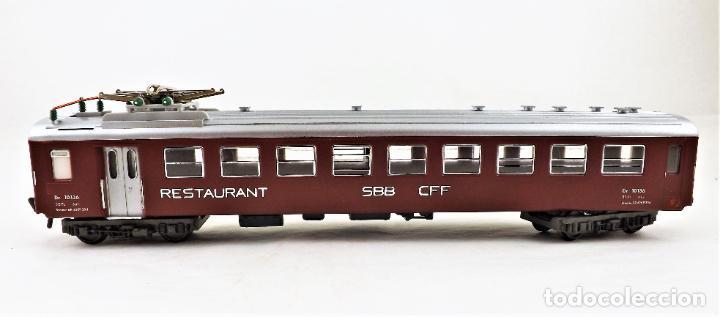 Trenes Escala: Fleischmann H0 5131 Coche Restaurante SBB CFF - Foto 3 - 254412080