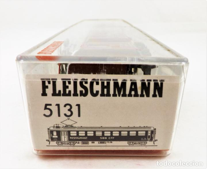 Trenes Escala: Fleischmann H0 5131 Coche Restaurante SBB CFF - Foto 4 - 254412080