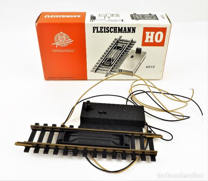 FLEISCHMANN 6012 VÍA DE DESACOPLAMIENTO H0 (Juguetes - Trenes Escala H0 - Fleischmann H0)
