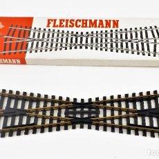 Trenes Escala: FLEISCHMANN 6062 CRUCE VÍAS. HO DC. Lote 254580075