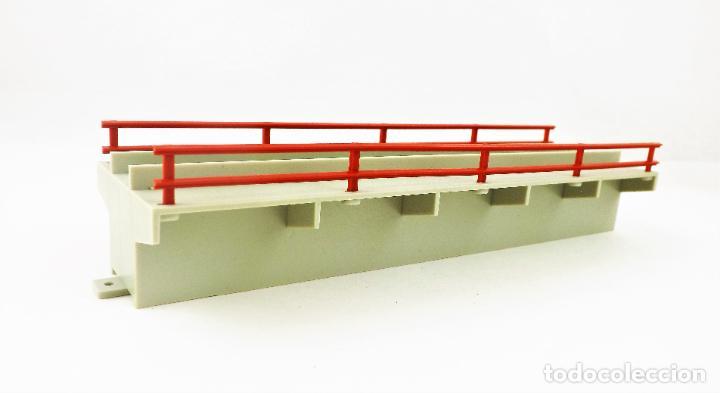 Trenes Escala: Fleischmann 6483. Tramo para muelle de mercancías. HO DC - Foto 2 - 268988854