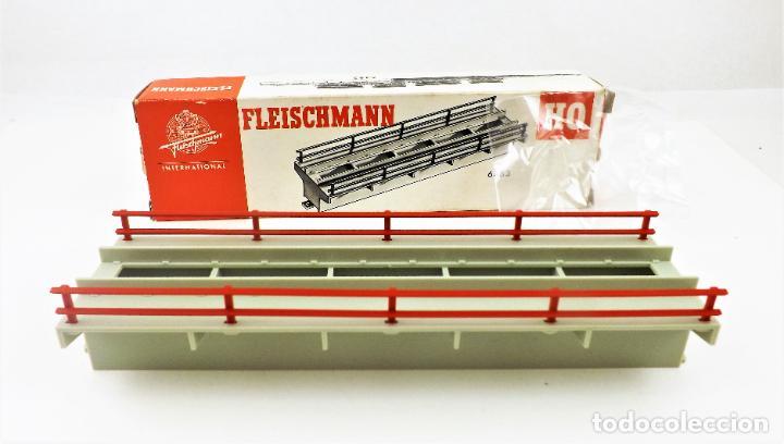 FLEISCHMANN 6483. TRAMO PARA MUELLE DE MERCANCÍAS. HO DC (Juguetes - Trenes Escala H0 - Fleischmann H0)