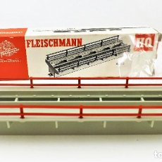 Trenes Escala: FLEISCHMANN 6483. TRAMO PARA MUELLE DE MERCANCÍAS. HO DC. Lote 254582180