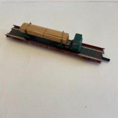 Trenes Escala: FLEISCHMANN. HO. REF 5271. PLATAFORMA TRANSPORTE PESASO. Lote 255322215