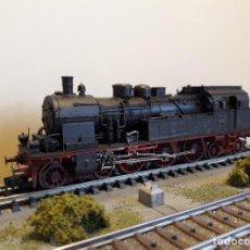 Trenes Escala: FLEISCHMANN H0 DIGITAL LOCOMOTORA VAPOR TANQUE BR 78, DE LA DRG, REFERENCIA 4077 DC.. Lote 255460885