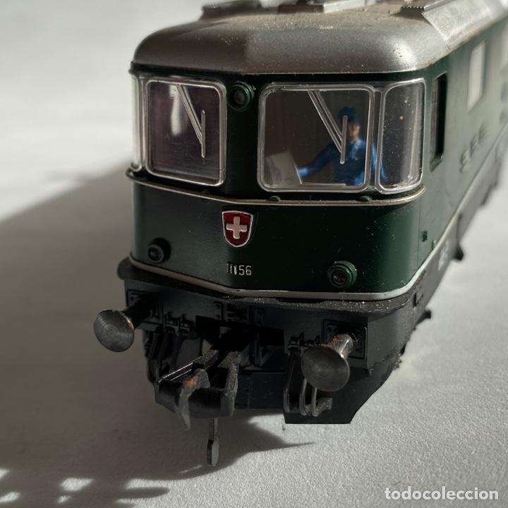 Trenes Escala: Locomotora Fleischmann 11156 SBB CFF FFS escala h0 Fleischman - Foto 4 - 255563520