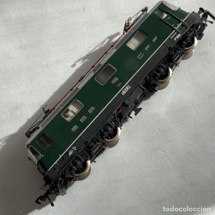 Trenes Escala: Locomotora Fleischmann 11156 SBB CFF FFS escala h0 Fleischman - Foto 7 - 255563520