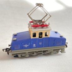 Trenes Escala: TREN LOCOMOTORA FLEISCHMANN ELÉCTRICA 1968 CREMALLERA ESCALA H0 FLEISCHMAN. Lote 255574800