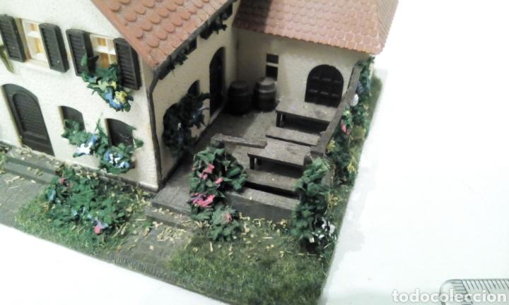Trenes Escala: JIFFY VENDE MAQUETA CASA HOSTAL POSADA HOTEL CON MERENDERO DIRÍA QUE ES H0. MARKLIN FLEISCHMANN ROCO - Foto 9 - 256064465