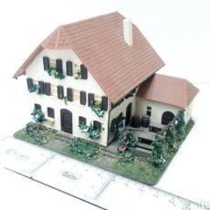 Trenes Escala: JIFFY VENDE MAQUETA CASA HOSTAL POSADA HOTEL CON MERENDERO DIRÍA QUE ES H0. MARKLIN FLEISCHMANN ROCO. Lote 256064465