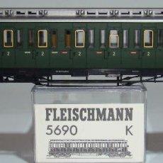 Comboios Escala: FLEISCHMANN COCHE PASAJEROS DE COLA DE LA DB REF:5690 ESCALA HO. Lote 258258600