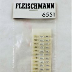 Trenes Escala: FLEISCHMANN 6551 PEGATINAS PARA COCHES DE PASAJEROS. ORIGINAL H0. Lote 261261330