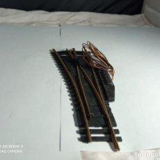 Trenes Escala: DESVIO ELECTRICO IZQUIERDO ESCALA HO DE FLEISCHMANN. Lote 261679295