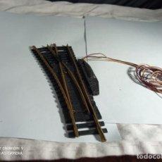 Comboios Escala: DESVIO ELECTRICO IZQUIERDO ESCALA HO DE FLEISCHMANN. Lote 261679630