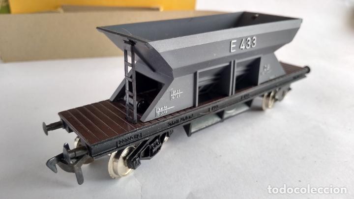 Trenes Escala: FLEISCHMANN H0, VAGÓN CARGA TOLVA, CON CAJA. VÁLIDO IBERTREN,ROCO, ETC - Foto 2 - 262068580