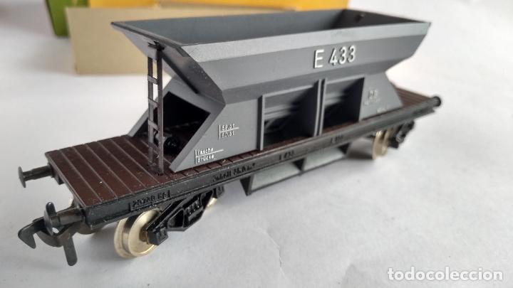Trenes Escala: FLEISCHMANN H0, VAGÓN CARGA TOLVA, CON CAJA. VÁLIDO IBERTREN,ROCO, ETC - Foto 3 - 262068580