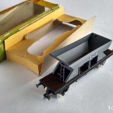 Trenes Escala: FLEISCHMANN H0, VAGÓN CARGA TOLVA, CON CAJA. VÁLIDO IBERTREN,ROCO, ETC. Lote 262068580