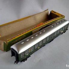 Trenes Escala: FLEISCHMANN H0, VAGÓN COCHE PASAJEROS, CON CAJA. VÁLIDO IBERTREN,ROCO, ETC. Lote 262069485